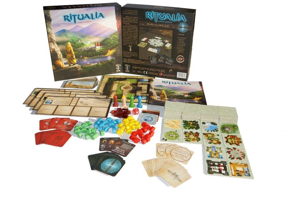 ritualia joc board game produs romania